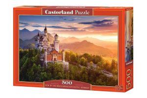 Puzzle Castorland 500 dílků -  Zámek Neuschwanstein   52752