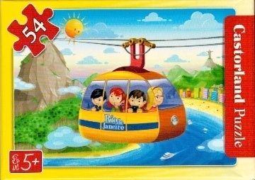 puzzle Castorland 54 dílků mini - cestování - autobusem v Londýně