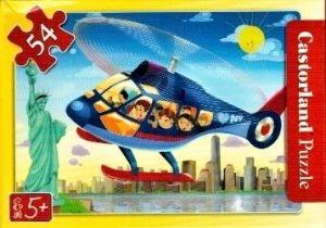 puzzle Castorland 54 dílků mini - cestování - vrtulníkem nad New Yorkem