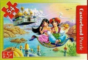puzzle Castorland 54 dílků mini - pohádky - Aladinova lampa