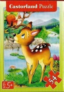 puzzle Castorland 54 dílků mini - pohádky - Bambi