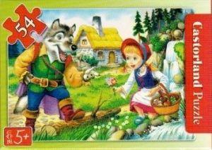 puzzle Castorland 54 dílků mini - pohádky - Červená Karkulka b