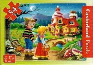 puzzle Castorland 54 dílků mini - pohádky - Jeníček a Mařenka