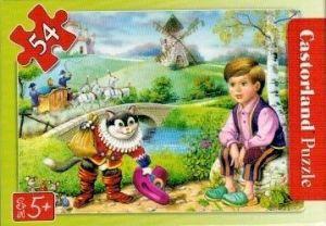 puzzle Castorland 54 dílků mini - pohádky - Kocour v botách