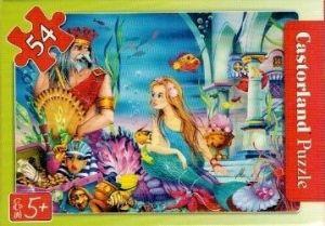 puzzle Castorland 54 dílků mini - pohádky - Malá mořská víla