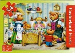 puzzle Castorland 54 dílků mini - pohádky - Mášenka a tři medvědi