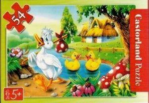 puzzle Castorland 54 dílků mini - pohádky - o ošklivém káčátku