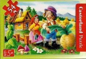 puzzle Castorland 54 dílků mini - pohádky - o veliké řepě