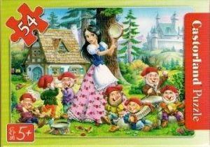 puzzle Castorland 54 dílků mini - pohádky - Sněhurka b