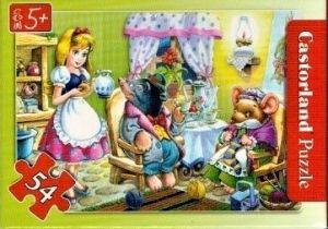 puzzle Castorland 54 dílků mini - pohádky - víla Thumbelína