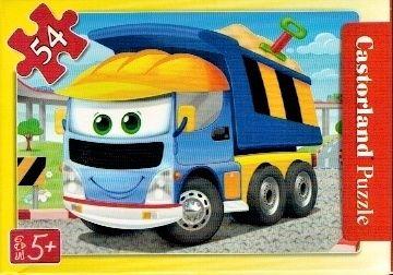 puzzle Castorland 54 dílků mini - pracovní vozidla - sklápěčka