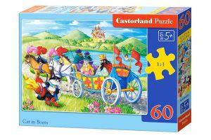 Puzzle Castorland 60 dílků - Kocour v botách   - 066070