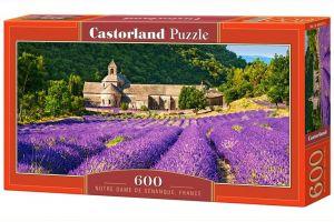 Puzzle Castorland 600 dílků panorama  - Notre Dame Francie  060313