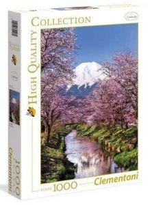 Puzzle Clementoni 1000 dílků - Hora Fudži  Japonsko   39418