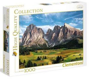 Puzzle Clementoni 1000 dílků - Korunovace Alp   39414