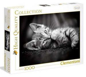 Puzzle Clementoni 1000 dílků - Koťátko   39422