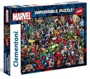 Puzzle Clementoni 1000 dílků - Nekoneční hrdinové Marvelu    39411