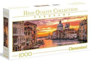 Puzzle Clementoni 1000 dílků  panorama - Benátky Grand Canal  39426