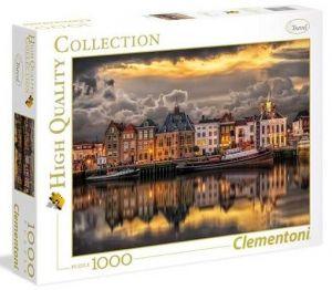 Puzzle Clementoni 1000 dílků  panorama - Holandský sen    39421