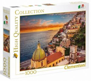 Puzzle Clementoni 1000 dílků - Positano    39451