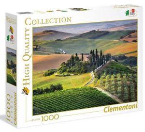 Puzzle Clementoni 1000 dílků - Toskánsko    39456
