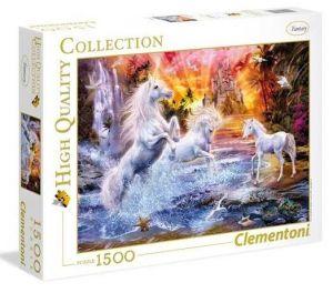 Puzzle Clementoni 1500 dílků  - Jednorožci  31805