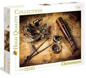 Puzzle Clementoni 1500 dílků  - Směrem k pokladu  31808
