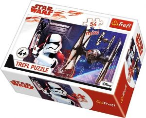 Puzzle mini 54 d - Trefl - Star Wars -  poslední Jedi    19597
