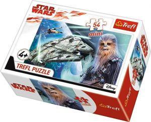 Puzzle mini 54 d - Trefl - Star Wars -  poslední Jedi    19599