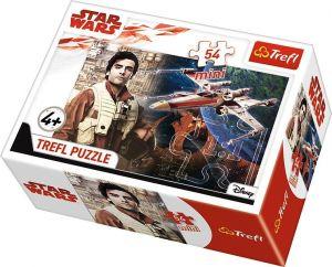 Puzzle mini 54 d - Trefl - Star Wars -  poslední Jedi    19600