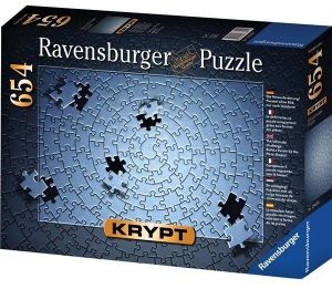 Puzzle Ravensburger 654dílků - Krypt - stříbrná  barva  159642