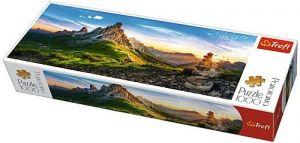 Puzzle TREFL  1000 dílků - panorama - Passo di Giau -  Dolomity  29038