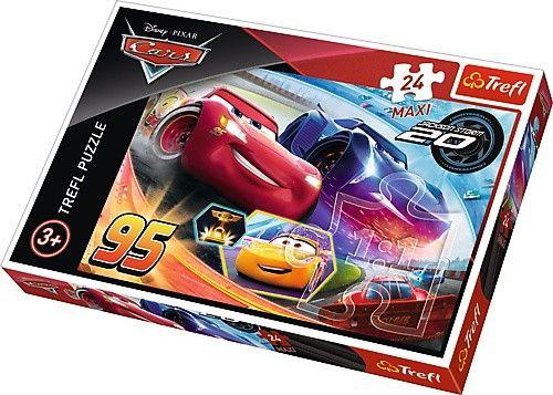 Puzzle Trefl 24 MAXI dílků - CARS - Auta 3 14264