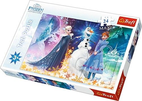 Puzzle Trefl 24 MAXI dílků - Frozen - Ledové království 14265
