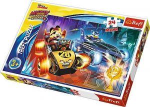 Puzzle Trefl 24 MAXI dílků  - Mickey - závodníci   14266