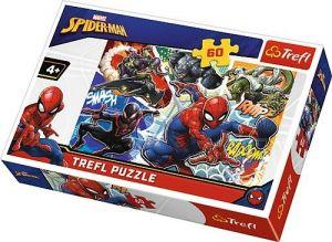 Puzzle  Trefl  60 dílků  - Spiderman   17311