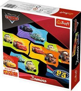 Trefl - obrázkové domino  - CARS - Auta   01599