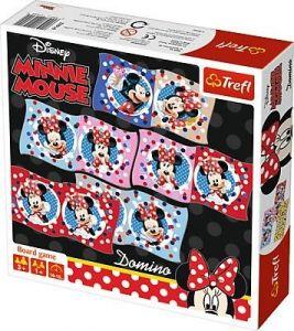 Trefl - obrázkové domino  - Minnie  Mouse  01600