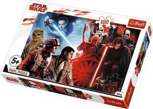 Trefl Puzzle 100 dílků - Star Wars VIII -  válka dobra se zlem  16336
