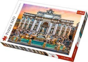 TREFL Puzzle  500 dílků -  Fontána di Trevi Itálie    37292