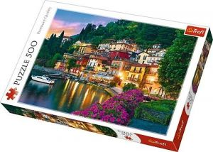 TREFL Puzzle  500 dílků -  Jezero Como    37290