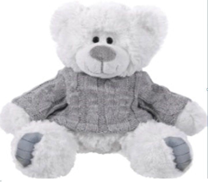 BEPPE - Medvídek Gerard 22 ve svetru - bílý 13253