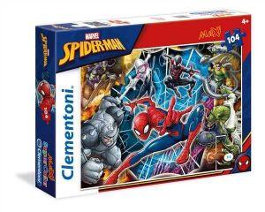 Clementoni puzzle 104 dílků MAXI - Spiderman 23716