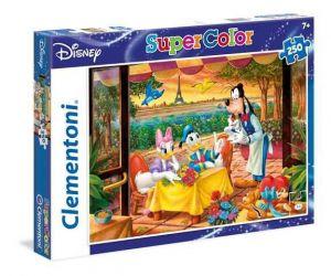 Clementoni Puzzle 250 dílků  Mickey v Paříži  29051