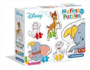 Clementoni Puzzle pro nejmenší - My first 4v1 - Disney - zvířecí kamarádi 20807