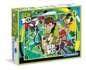 Dětské puzzle Clementoni  60 dílků  - Ben10   08432