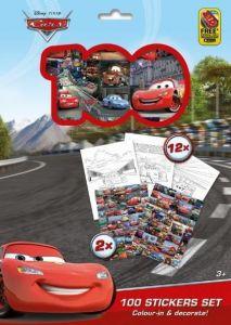 JIRI MODELS - Omalovánky + 100 samolepek holografické Auta Cars