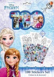 JIRI MODELS - Omalovánky + 100 samolepek holografické  Frozen