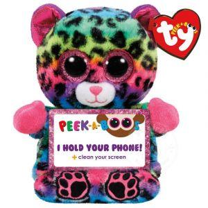 Meteor TY - Peek a Boos - držák na mobil - barevný leopard Lance 00014 TY Inc. ( Meteor )