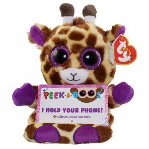 Meteor TY - Peek a Boos - držák na mobil - žirafa Jesse 00007 TY Inc. ( Meteor )